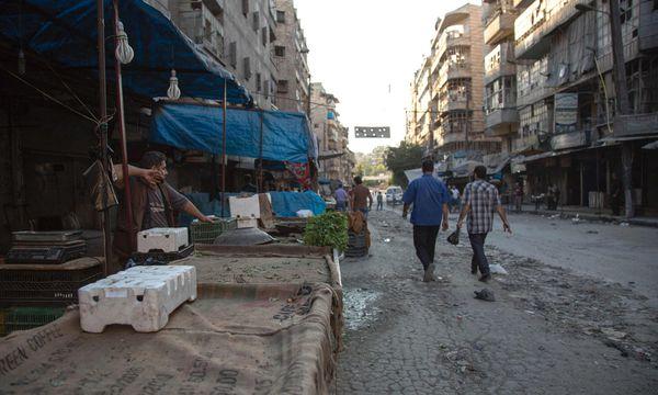 Bild: (c) APA/AFP/KARAM AL-MASRI