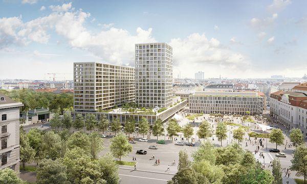 Wien könnte seinen Weltkulturerbe-Status verlieren. / Bild: APA/ISAY WEINFELD&SEBASTIAN MURR