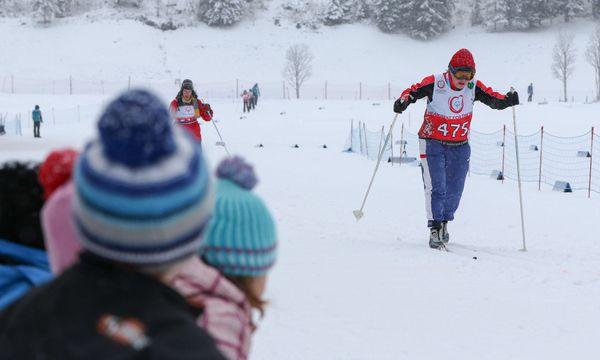 Loipen und Stadion in Ramsau sind bereit, am Fuß des Dachsteins werden die Langläufer und Schneeschuhläufer ihre Goldträume verwirklichen. / Bild: (c) Martin Huber / EXPA / picturedesk.com