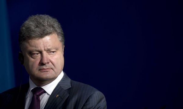 Petro Poroshenko / Bild: (c) imago/IPON (imago stock&people)