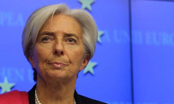 Christine Lagarde / Bild: (c) EPA (OLIVIER HOSLET)