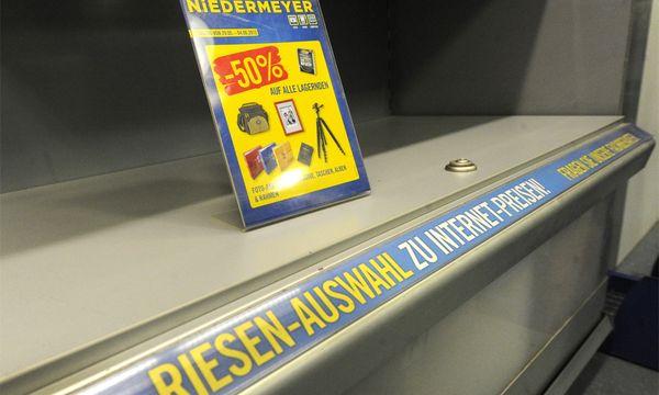 Minus Prozent Kundenansturm Niedermeyer / Bild: (c) APA (Herbert Pfarrhofer)