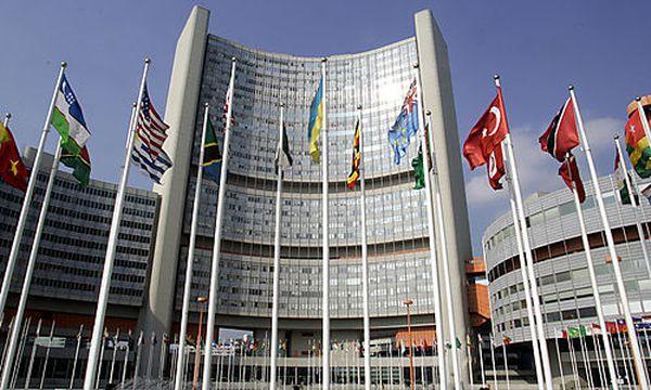 Die IAEA in der Wiener UNO-City / Bild: (c) AP (Ronald Zak)