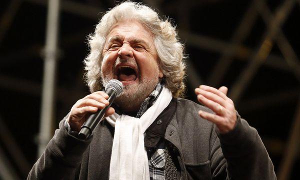 Beppe Grillo / Bild: (c) Reuters (STEFANO RELLANDINI)