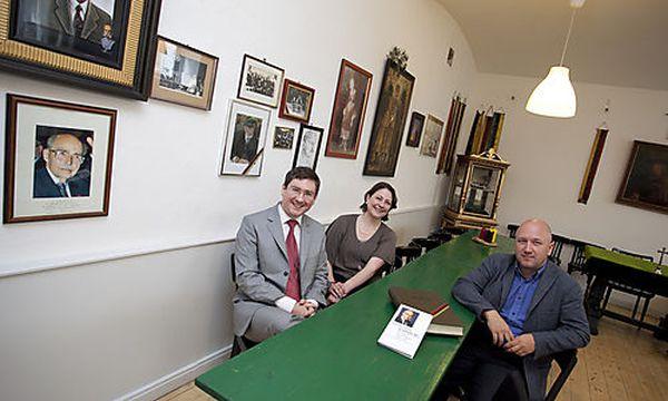 Clemens Aigner, Georg Peithner-Lichtenfels, Maximiliana, Presse, Sophie W�ginger, Studentenbude, Stud / Bild: (c) Presse  (Mirjam Reither)