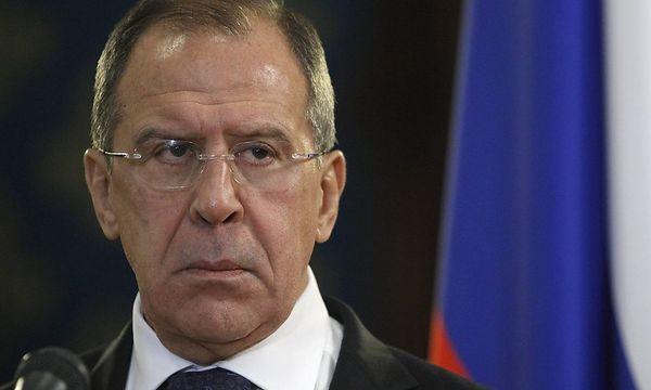 Der russische Außenminister Sergej Lawrow / Bild: (c) REUTERS