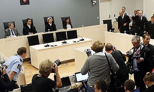 Breivik-Prozess / Bild: EPA