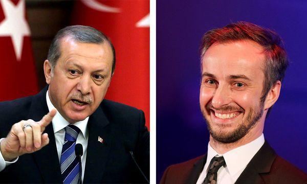 Der türkische Präsident Erdogan und der deutsche Satiriker Böhmermann  / Bild: (c) APA/AFP/DPA/STR/ROLF VENNENBERND (ROLF VENNENBERND)