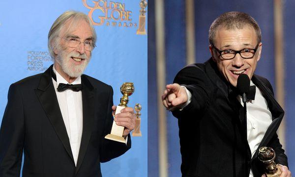 Golden Globes für Christoph Waltz und Michael Haneke / Bild: (c) AP (Paul Drinkwater / Jordan Strauss)
