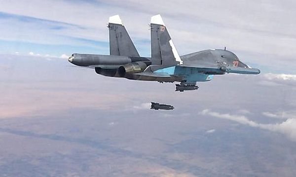 Russischer Bomber Su-34