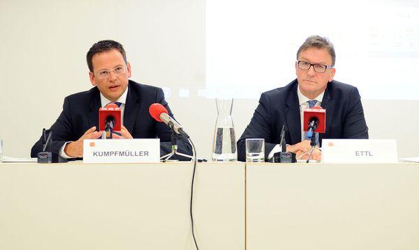 Vorstände FMA-Vorstände Klaus Kumpfmüller und Helmut Ettl / Bild: (c) Clemens Fabry