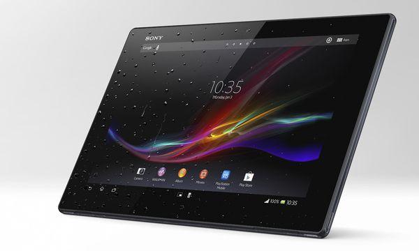 Sony Xperia Tablet Z: Robust, leicht, hohe Auflösung / Bild: (c) Sony