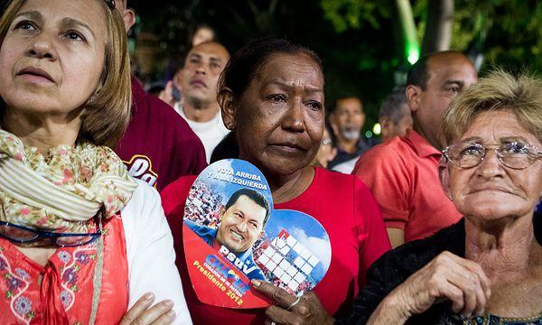 """""""Heiligenkult"""" um kranken Hugo Chávez / Bild: (c) EPA (MIGUEL GUTIERREZ)"""