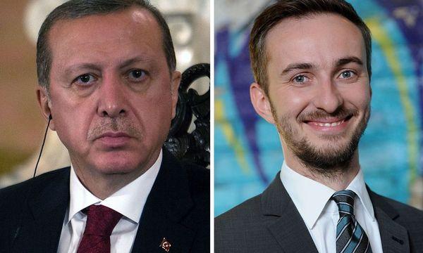 Erdogan und Böhmermann. / Bild: (c) AFP