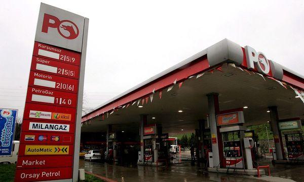 Archivbild: Eien Petrol Ofisi Tankstelle in Istanbul / Bild: EPA