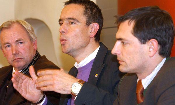 Gerhard Dörfler, Uwe Scheuch, Christian Ragger / Bild: (c) APA/DANIEL RAUNIG (DANIEL RAUNIG)
