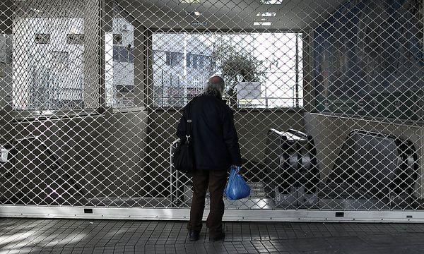 Acht Tage lang war die Athener U-Bahn nicht im Betrieb / Bild: AP