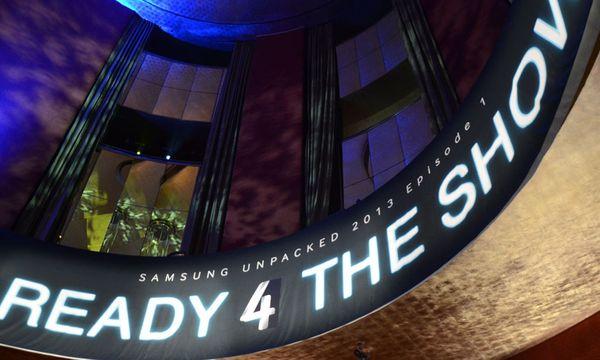 Samsungs schraege SmartphoneShow / Bild: (c)