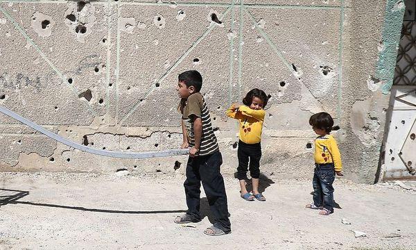 Kinder in Damaskus - Symbolbild / Bild: APA/AFP/ABD DOUMANY