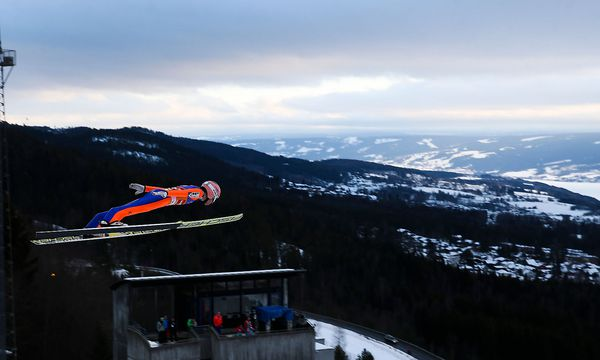 Stefan Kraft mischt auch in Lillehammer an der Spitze mit. / Bild: (c) GEPA pictures (GEPA pictures/ Philipp Brem)