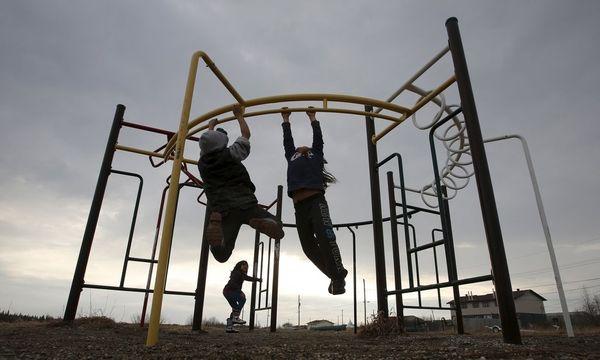 Kinder auf dem Spielplatz / Bild: REUTERS