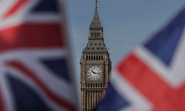 Big Ben und Union Jack  / Bild: (c) APA/AFP (DANIEL LEAL-OLIVAS)