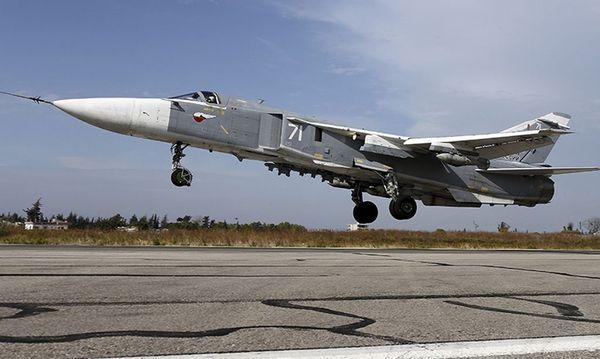 Russischer Kampfjet des Typs SU-24. / Bild: (c) Reuters