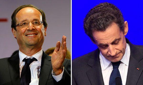 Historischer Machtwechsel: Hollande besiegt Sarkozy / Bild: (c) AP