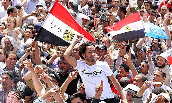 Proteste am kairoer Tahrir-Platz / Bild: (c) EPA (Khaled Elfiqi)