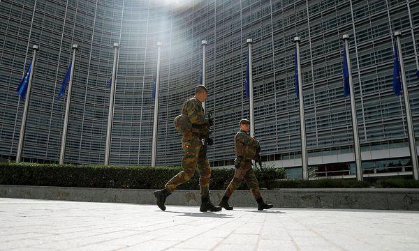 Die EU-Minister wollen heute ein militärisches Hauptquartier beschließen. / Bild: REUTERS/Phil Noble