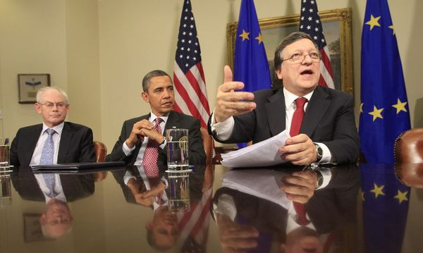 Obama meets European Union leaders in Washington / Bild: REUTERS