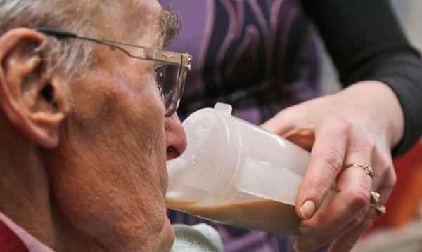 Pflegebedürftiger Mann / Bild: AP