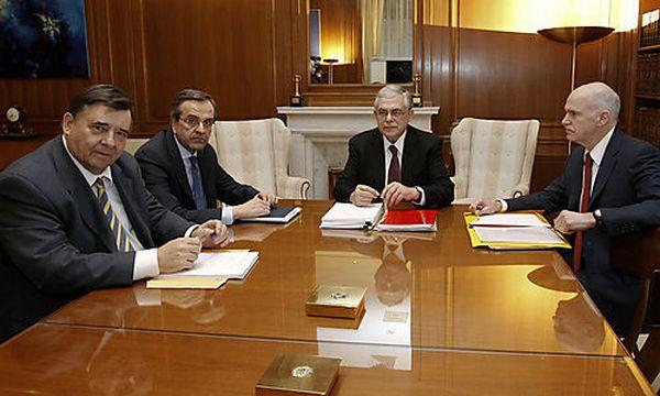 Verhandlungen Griechenland / Bild: (c) AP (Yiorgos Karahalis)