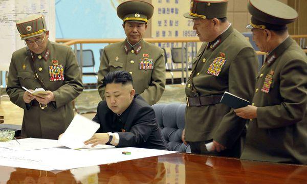 Nordkorea Befinden sofort Kriegszustand /