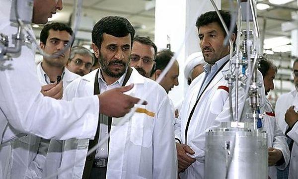 Irans Präsident Ahmadinejad / Bild: (c) AP ()