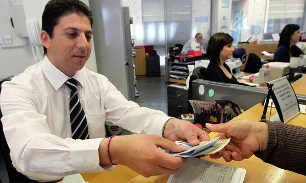 Einen Ansturm auf die Geldinstitute gab es am Freitag wie auch schon am Vortag nicht. / Bild: (c) EPA (KATIA CHRISTODOULOU)