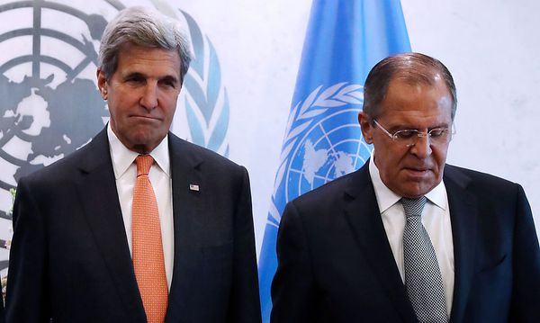 Kerry; Lawrow / Bild: REUTERS