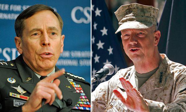 Ex-CIA-Chef Petraeus und General Allen / Bild: (c) APA/AP