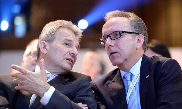 ÖGB-Präsident Erich Foglar und Arbeiterkammer-Präsident Rudolf Kaske  / Bild: APA