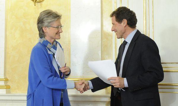 Claudia Schmied (SPÖ), Karlheinz Töchterle (ÖVP) / Bild: (c) APA/HELMUT FOHRINGER (HELMUT FOHRINGER)
