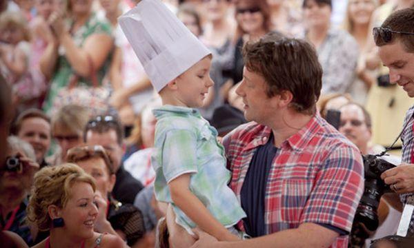 Jamie Oliver / Bild: (c) EPA (PATRICK HAMILTON)