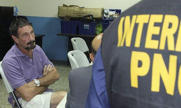 John McAfee festgenommen / Bild: REUTERS