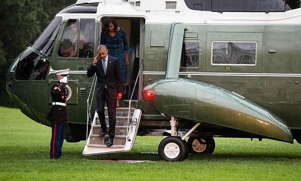 US-Präsident Barack Obama / Bild: APA/AFP/ZACH GIBSON