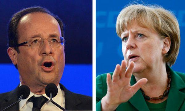 Hollande, Merkel / Bild: EPA/Reuters