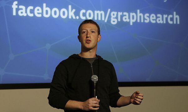 Mark Zuckerberg bei der Präsentation / Bild: AP