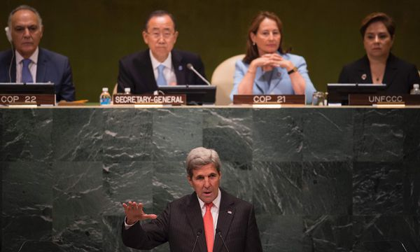 US-Außenminister John Kerry. / Bild: (c) APA/AFP/DON EMMERT