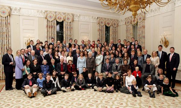 Familie Bush / Bild:  c EPA Eric Draper Ho