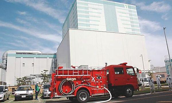 Feuerwehr beim AKW Fukushima Zwei / Bild: (c) REUTERS (Ho)