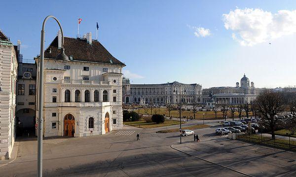 Archivbild: Der Wiener Ballhausplatz / Bild: (c) Fabry