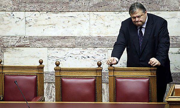 Finanzminister Evangelos Venizelos / Bild: (c) AP (Petros Giannakouris)
